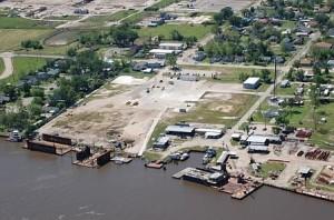Sterling Shipyard Aerial